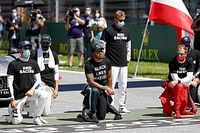 "Hamilton ""grateful"" to F1 drivers who took a knee"