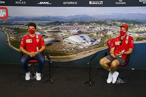Ferrari: No big differences in data between Vettel and Leclerc