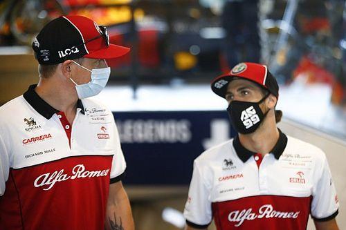 Räikkönen vagy Giovinazzi a viccesebb? (videó)