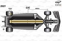 タイヤを守るため、ダウンフォース削減のF1。2021年のレギュレーションはどこが変わる?