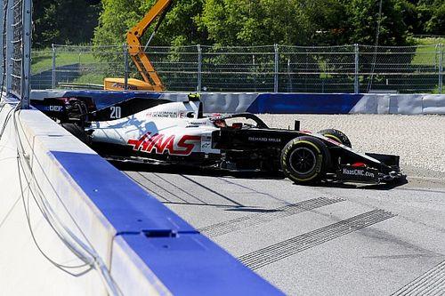 Haas miał problem z hamulcami