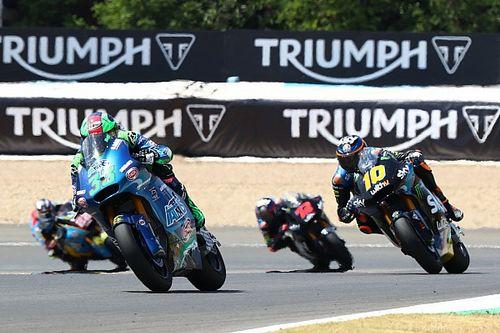 Bastianini scoort verrassende eerste overwinning in Moto2