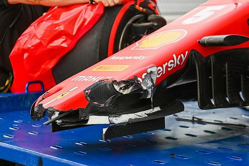 The Ferrari update secrets revealed by Vettel's crash