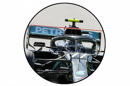 Mercedes: scoperta l'ala posteriore che flette sulla W11!