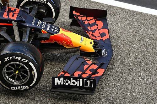 Red Bull: più carico all'anteriore con la nuova bandella