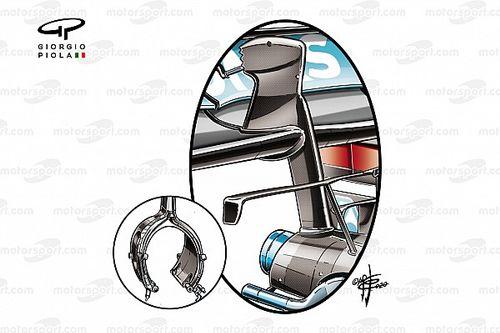 Mercedes: monopilone e diffusore con le punte