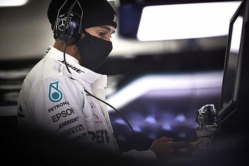 """Hamilton: """"Oproep in racismedebat niet gericht aan F1-collega's"""""""