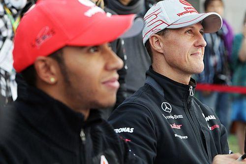 Massa: Schumacher trabalhava mais, Hamilton tem mais talento