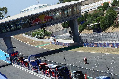Cómo quedaría la parrilla de salida de MotoGP tras el test de Jerez