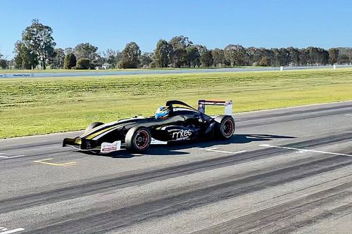 Supercars rookie cuts first post-lockdown laps