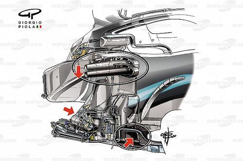Tecnica Mercedes: scopriamo alcuni segreti della W11
