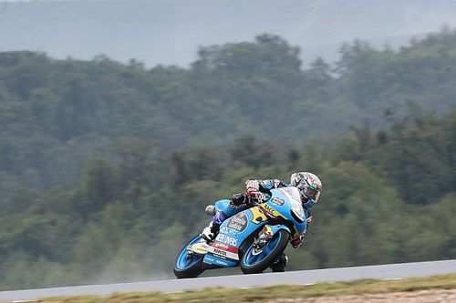 Moto3 rider Lopez handed big penalty for shoving teammate