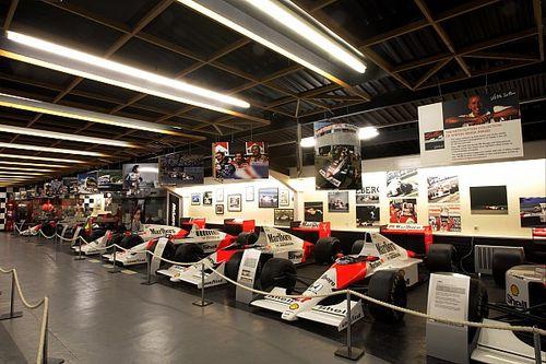 Donington decide fechar museu com coleção de F1s históricos