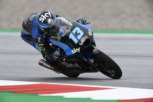 Moto3, Red Bull Ring, Libere 3: Vietti al top sul bagnato