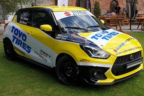 Suzuki: la Swift Hybrid R1 è la grande novità dei rally 2020