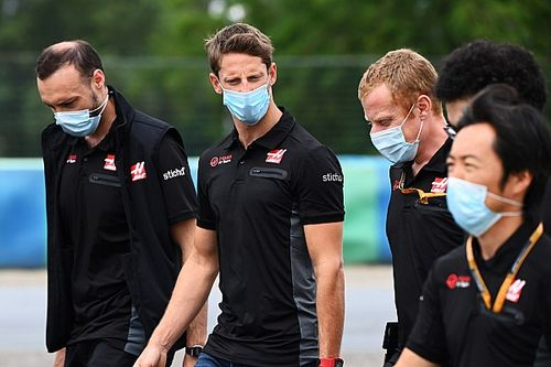 "Grosjean admits Haas' F1 future the ""elephant in the room"""