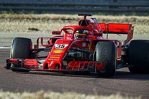 Shwartzman impresiona con el SF71H en test de Ferrari en Fiorano