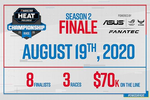 Az ASUS és a Fanatec támogatásával kerül megrendezésre az eNASCAR Heat Pro League döntője