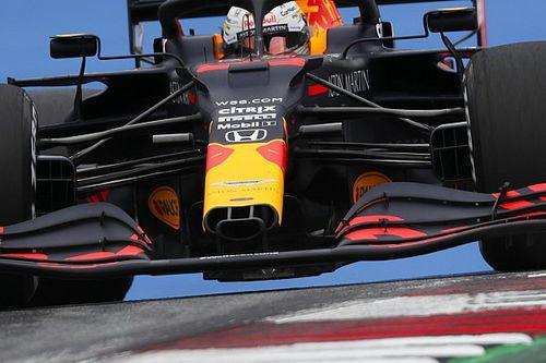 Red Bull в пятницу испытала новый нос болида RB16
