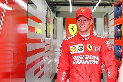 """Exclusif, Mick Schumacher : """"Depuis le début, je rêvais de piloter une Ferrari"""""""
