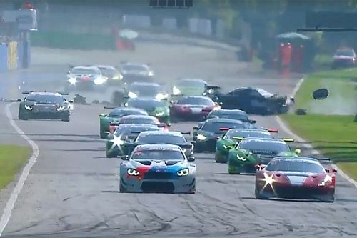 Hellmeister suffers broken legs in brutal Monza crash
