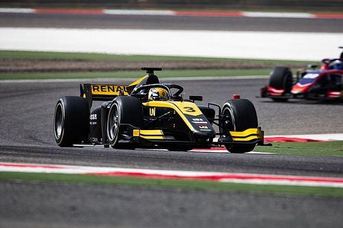 Чжоу выиграл первую в сезоне квалификацию Формулы 2