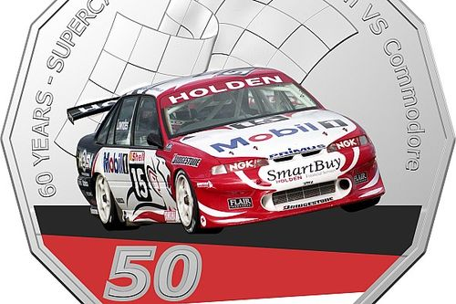 Royal Australian Mint launches Supercars coins
