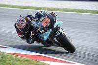 MotoGP Barcelona Isınma turları: Quartararo kazaya rağmen lider