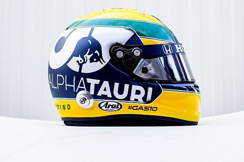 Gasly to run Senna tribute helmet at Imola