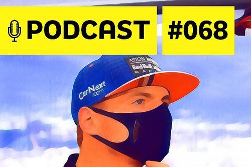 Podcast #068 – Qual é o limite de Max Verstappen na Red Bull?