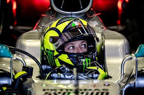 Valentino Rossi sur la F1, duel gagné avec Lewis Hamilton ?