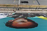 F1: Hamilton destaca as dificuldades causadas pelo calor e o vento em Barcelona após 92ª pole da carreira