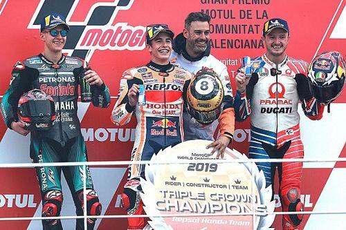 """Márquez: """"En los últimos diez años, la estrategia de Honda ha sido perfecta"""""""