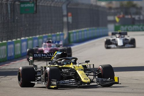 """Ricciardo sauve la 5e place : """"J'avais un peu le feu aux fesses"""""""