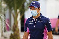 """F1: Pérez diz que conversa com """"um par de equipes"""" para 2021"""
