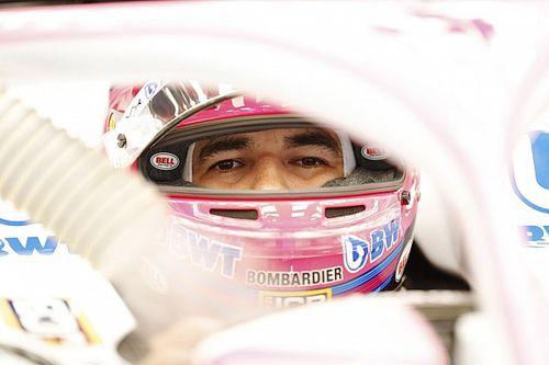 Pérez: muchos pensarán que he tenido mala suerte en la F1