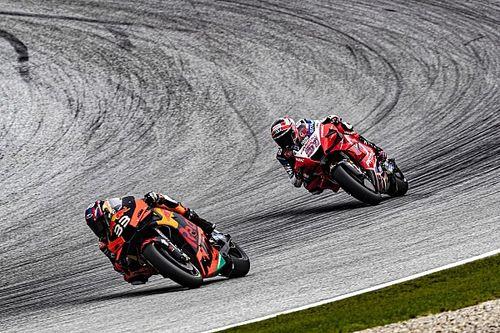 Así fue la clasificación para el Gran Premio de Austria de MotoGP
