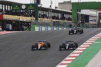 Las imágenes del récord de Hamilton en Portugal y Sainz liderando