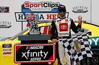 Brandon Jones steals Darlington Xfinity win as leaders wreck