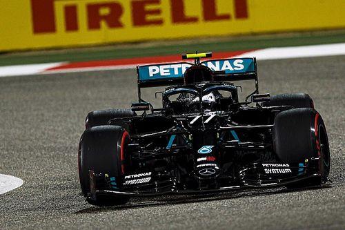 Bottas houdt Russell en Verstappen marginaal achter zich in kwalificatie
