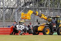 Pirelli explains cause behind Kvyat's British GP accident