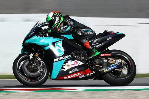 Barcelona MotoGP: Morbidelli fastest in FP2 despite crash