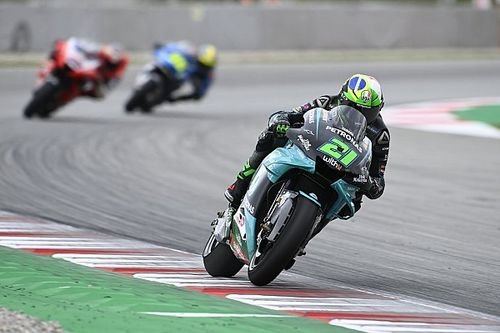 "Morbidelli ""positive"" to be ""angry"" about missed podium"