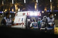 Grosjean to remain in hospital overnight after Bahrain crash