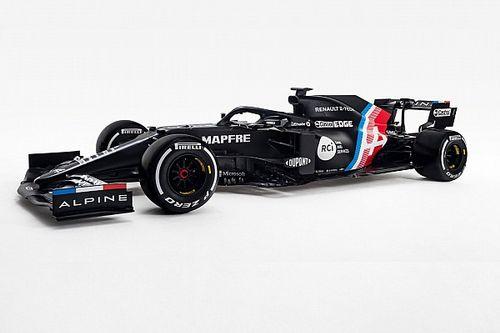 Alonso csapata, az Alpine bemutatta autója festését! - KÉPEK