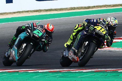 MotoGP: Morbidelli celebra pole e Rossi projeta parceria com o ítalo-brasileiro