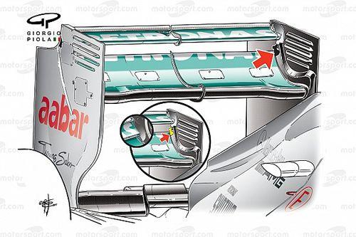 El sistema de doble DRS que la FIA le prohibió a Mercedes