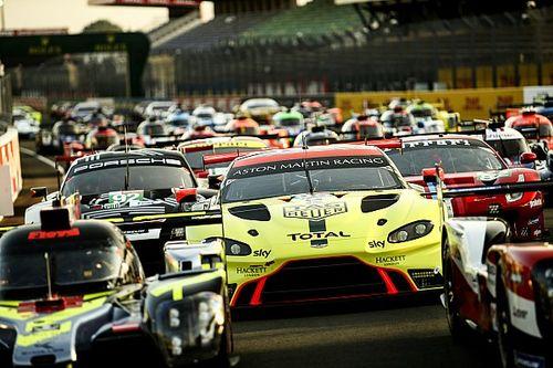 VIDEO: De startopstelling voor de 88ste 24 uur van Le Mans