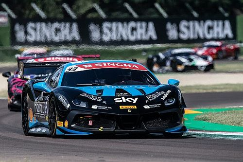 Ferrari Challenge Europe: Tabacchi and Kirchmayr star at Imola