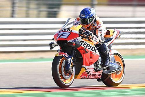 MotoGP, Teruel, Libere 1: Alex Marquez guida il dominio Honda